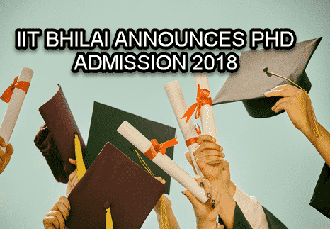 Phd Admission Notification @ IIT, Bhilai, Chemistry Candidates Can apply